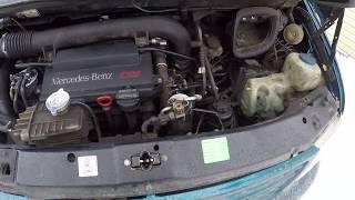 mercedes Vito Как проверить дует ли турбина прямо на авто дизель 2.2CDI OM611