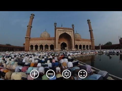 360 Degree View Of Eid Prayers At Delhi's Famous Jama Masjid