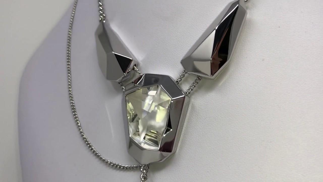 650a294a1d1b Swarovski Atelier by Jean Paul Gaultier Ladies Reverse Necklace 5243746