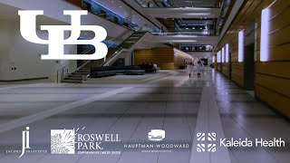 FPV Cinewhoop Fly-Through a Medical Campus! - University at Buffalo Innovation HUB