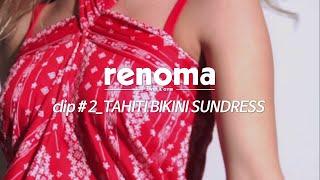 RENOMA SWIM clip #2: 이국적인 레드 선…
