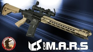[Review] ICS CXP MARS (Komodo,Carbine) 6mm SAEG Airsoft/Softair - 4K UHD