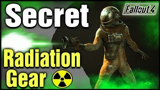 Fallout 4: Secret Unique Gamma Gun, & Hazmat Radiation Protection Suit!