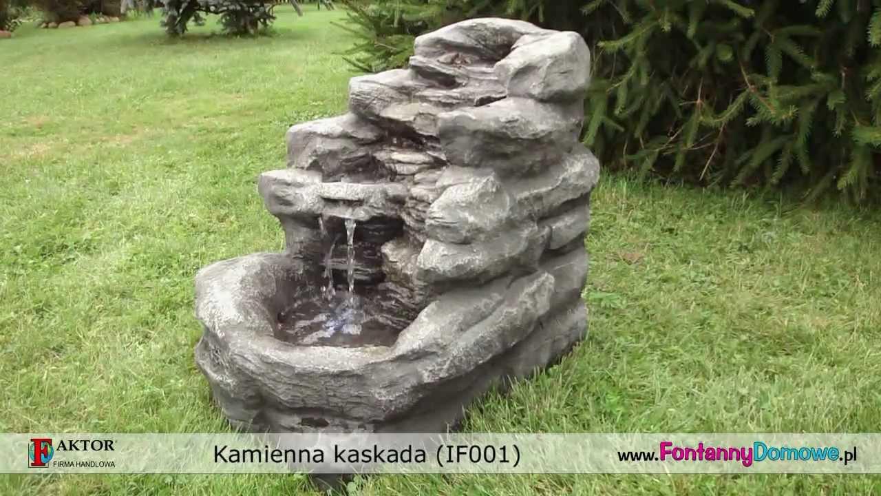 Fontanna Ogrodowa Kamienna Kaskada If001