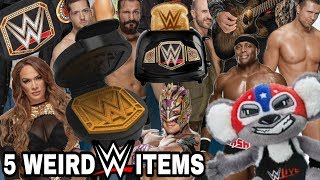 5 WEIRD WWE ITEMS YOU CAN BUY THIS 2018 HOLIDAY SEASON!!!