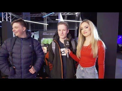 Kinga Kujawska i Wasiu przeprowadzają konkursy na IEM Expo