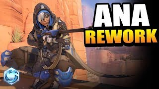 Ana rework! // Heroes of the Storm PTR