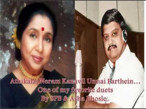 SP Balasubramaniam & Asha Bhosle -Athikalai Neram Kanavil UnnaiTamil duet