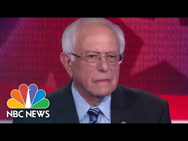 Bernie Asked Trick Question In Democratic Debate