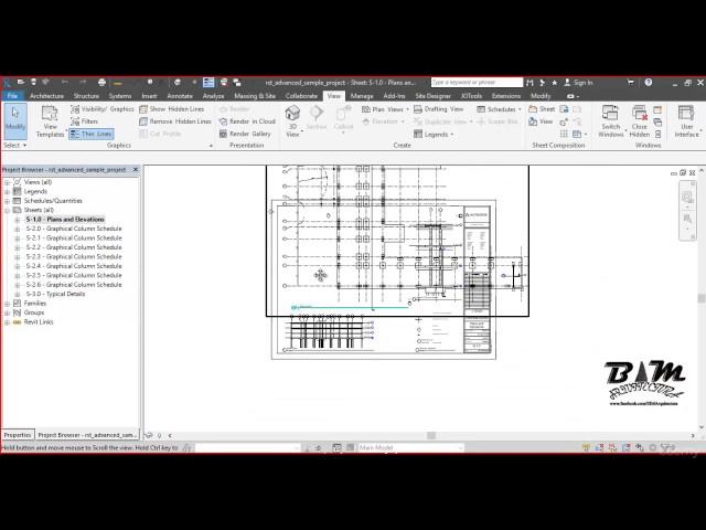 Revit Structures | 06 Descripción de Navegador de Proyecto y Propiedades Parte 1