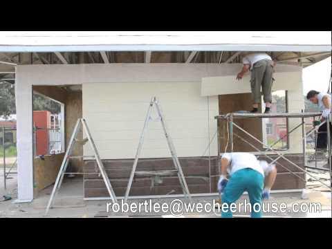 Light Steel Modular House,Prefabricated  House, Mobile Home, Sentry Box Making Install Video
