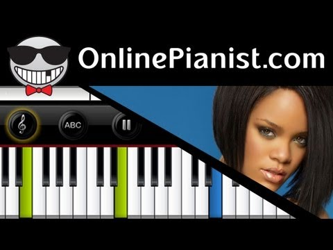 Rihanna - California King Bed - Piano Tutorial