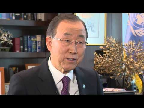 Ban Ki-moon: Making Equality Work