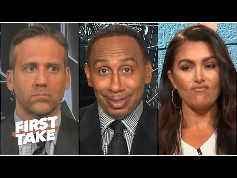 Stephen A. brags about his Steelers to salty Giants fans Max & Molly | First Take