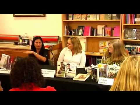 Romance Authors' Discussion Panel at Flintridge Books and Coffee in California