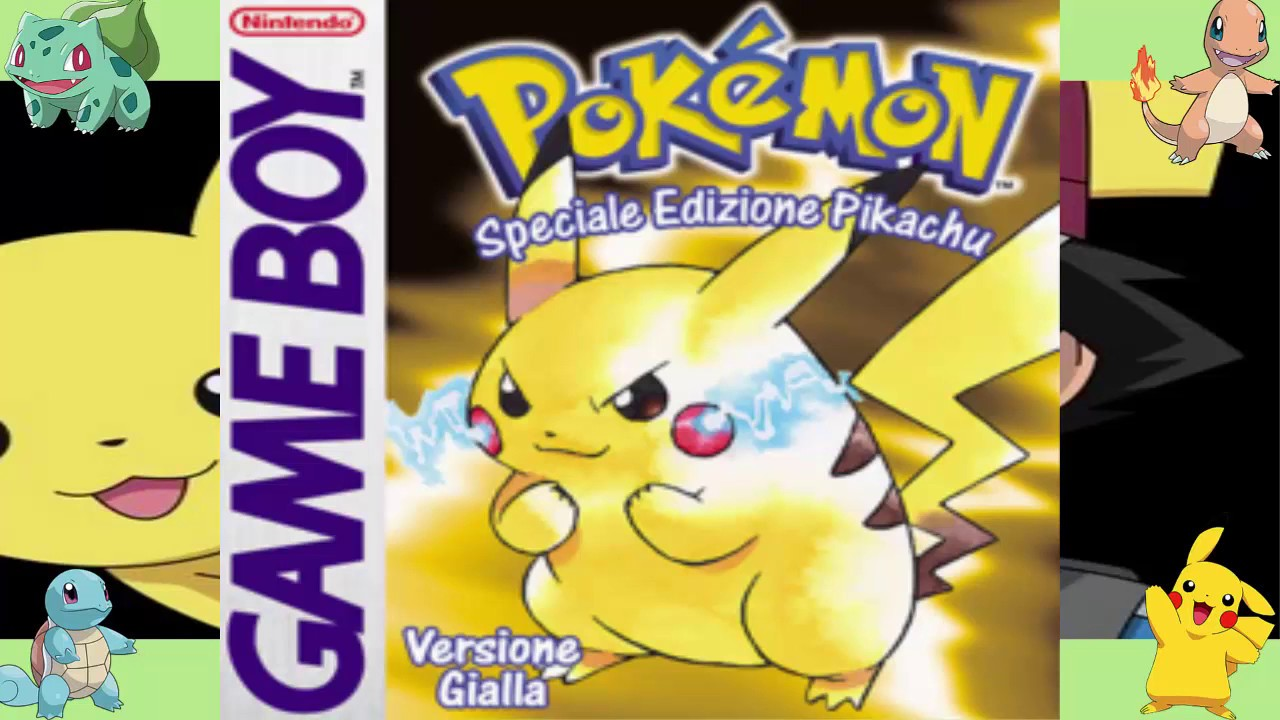 [Download] ROM Pokémon GIALLO + Emulatore [GAME BOY] - YouTube