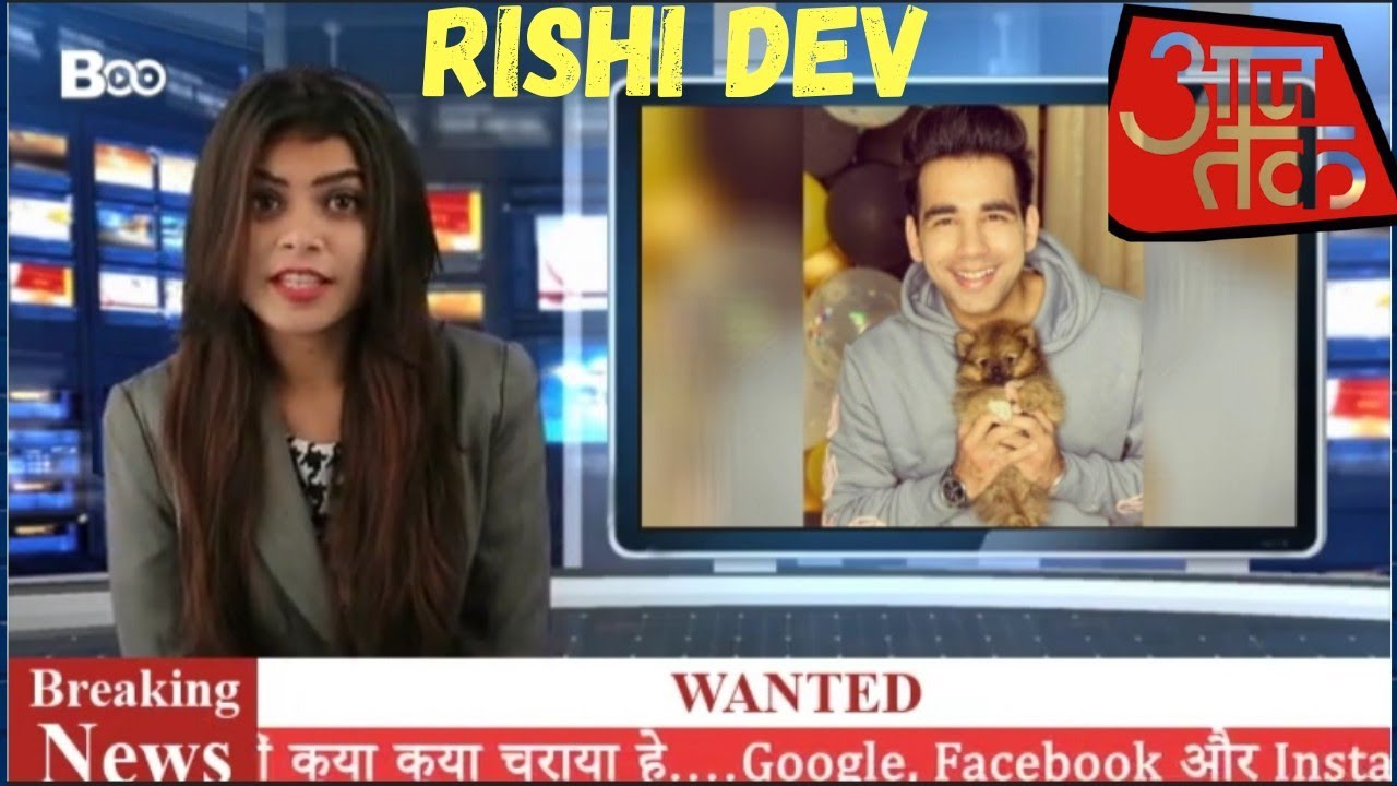 Rishi & Sanjay On News Channel ( Ajj Tak ) || Breaking ...