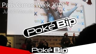Paris Games Week 2013 : Junichi Masuda vs Pokébip