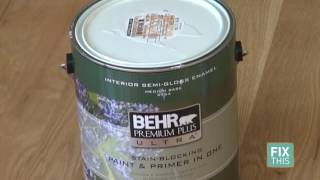 How to Paint Your Bathroom so it Won't Peel - DIY