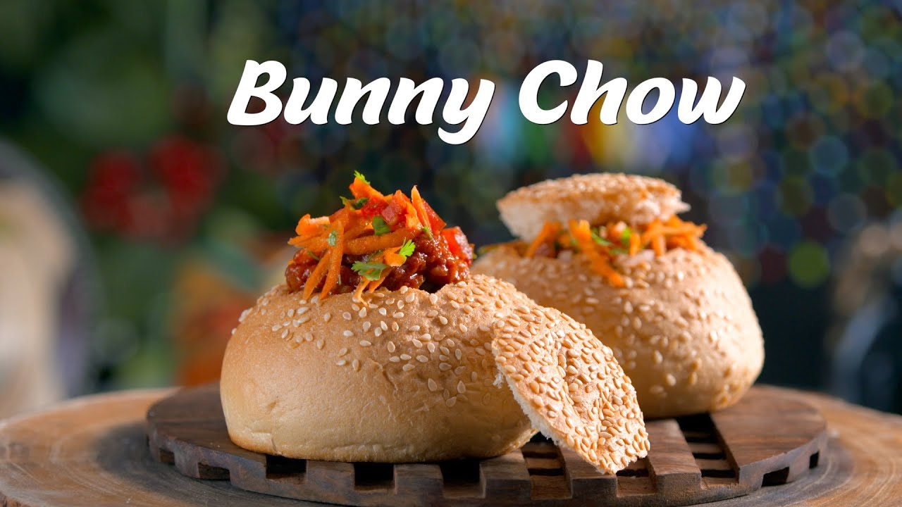 Bunny Chow Recipe | Durban Recipes | South African Snacks Recipes | Vegetarian African Recipes