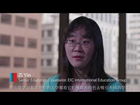 Chinese students value a North American university education