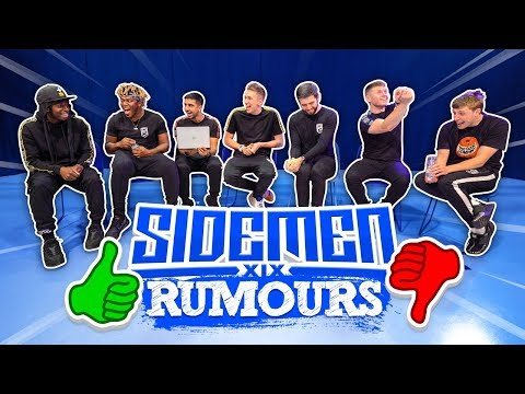 THE SIDEMEN ARE