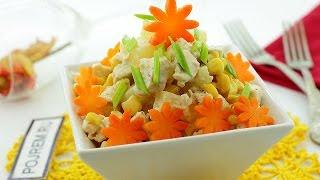 Салат с ананасами и куриной грудкой - секреты приготовления