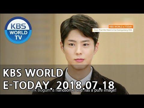 KBS WORLD e-TODAY [ENG/2018.07.18]