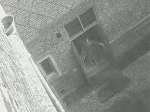 "Hampton Court Palace CCTV ghost ""Skeletor"""
