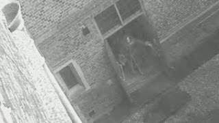 "Hampton Court Palace CCTV ghost ""Skeletor"""