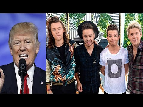 SHOCKER!  Donald Trump Kicked One Direction Out Of His Hotel After They Wouldn't Meet His Daughter