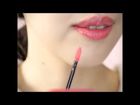 蘭蔻絕對完美水唇釉小編試色!