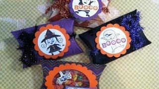 Halloween Pillow Boxes Treat