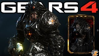 "Gears of War 4 - ""Black Steel Armored Kantus"" Character Multiplayer Gameplay! (Black Steel DLC)"