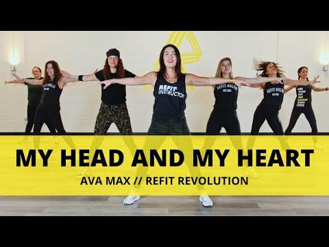 """My Head and My Heart"" || @Ava Max  || Dance Fitness Choreography || REFIT® Revolution"