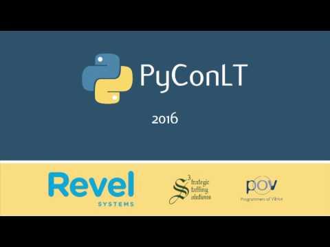 Image from [PyConLT'16] Laurynas Speičys: Python darbo vietos LT