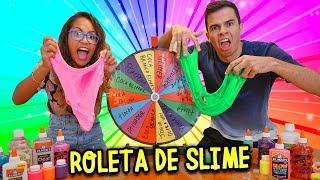 DESAFIO DA ROLETA MISTERIOSA DE SLIME DOS EUA! - KIDS FUN thumbnail