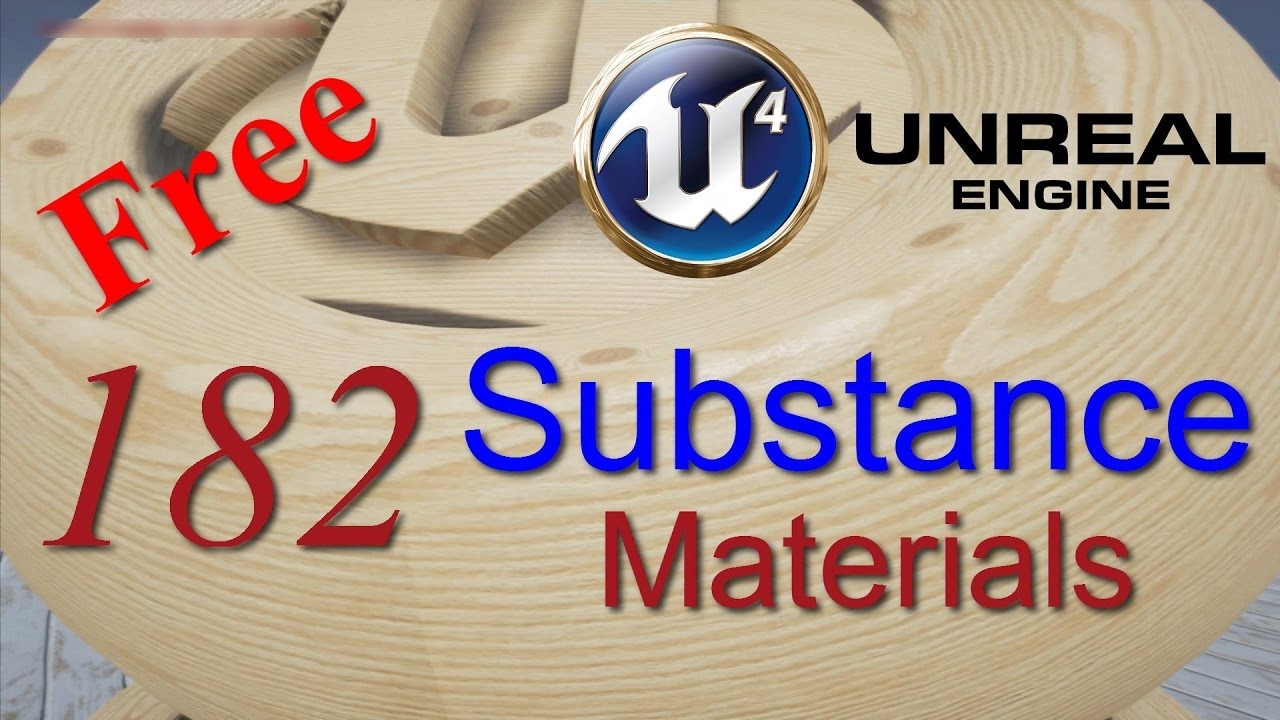 Free unreal engine Substance materials + download link HD