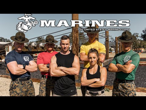 I TRAINED LIKE A MARINE