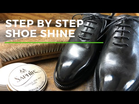 Step By Shoe Shine Mirror