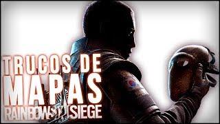 RAINBOW SIX SIEGE - OR MEJOR LOS PASOS RAPPEL DETECTORES - Consejos generales sobre el mapa 5