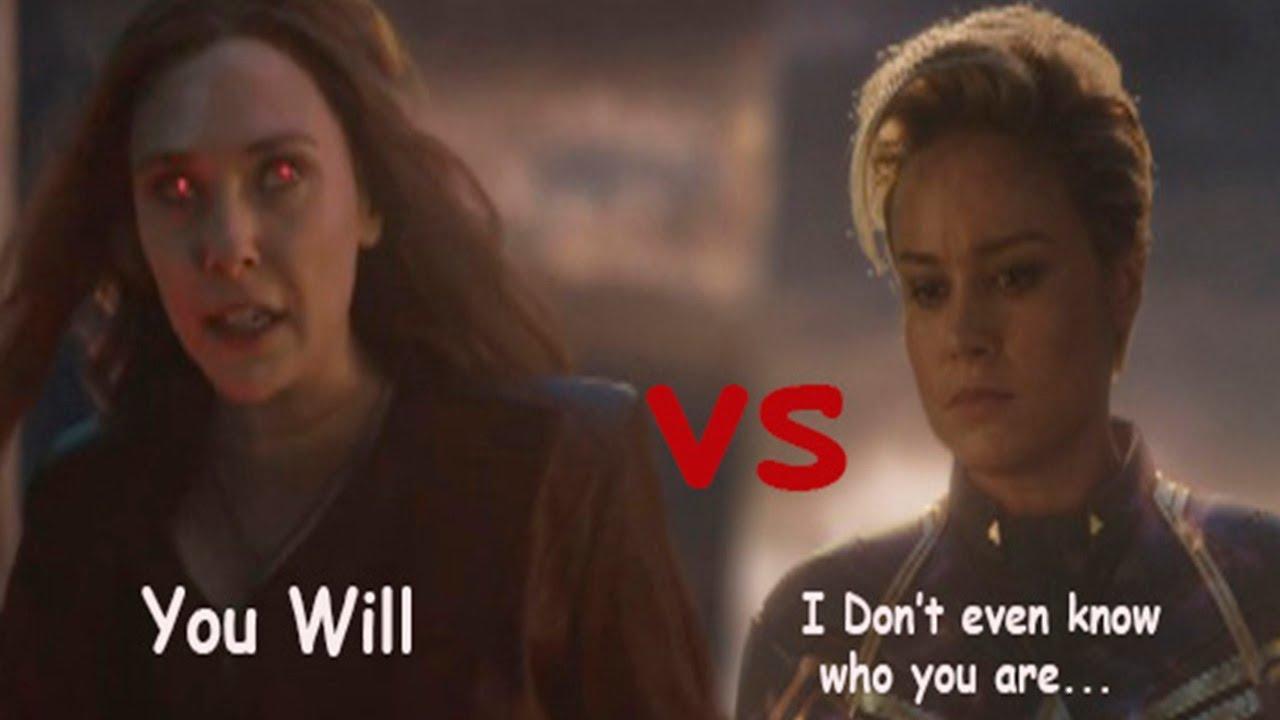Download Scarlet Witch vs Captain Marvel || Strongest