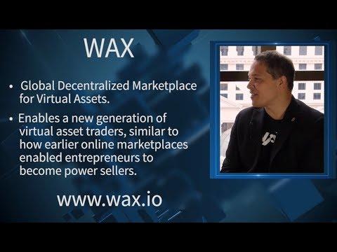 WAX - Worldwide Asset eXchange - President Malcolm Casselle - CoinAgenda Las Vegas 2018