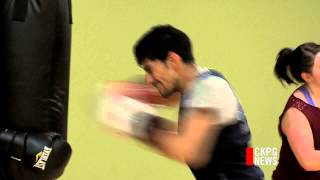 Local Boxer Kenny Lally Preparing For Pan-am Games