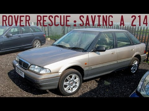 Rover Rescue - Saving A 1994 200 From The Jaws Of The Crusher