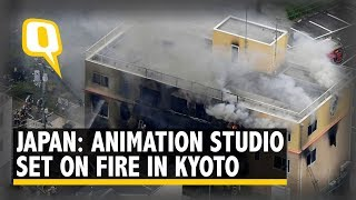 33 Killed, 36 Injured in Japan Animation Studio Arson Attack | The Quint