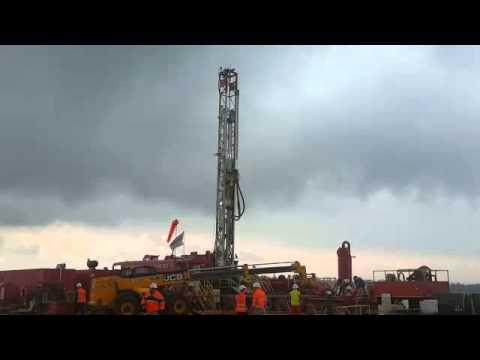 Afek Oil site where exploratory drilling will begin