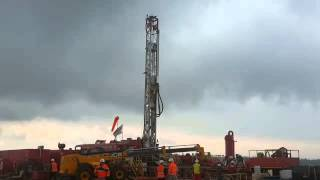 Afek Oil site where exploratory drilling will begin