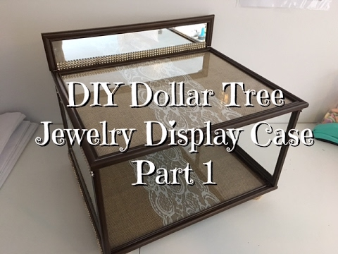 Diy dollar tree jewelry display case youtube diy dollar tree jewelry display case solutioingenieria Image collections