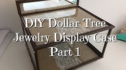 DIY Dollar Tree Jewelry Display Case